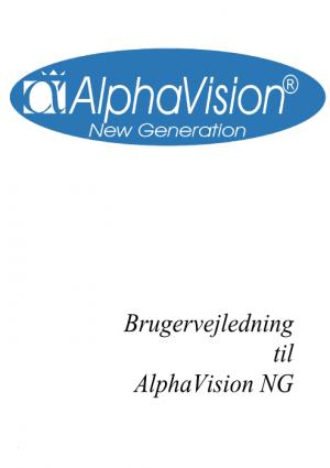 AlphavisionNG Brugermanual