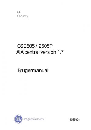 CS2505 Brugermanual