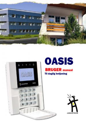OASIS Brugermanual